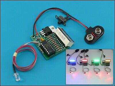 GhostBusters Movie Prop Ghost Trap LED Bargraph display Ghost Busters Version 2
