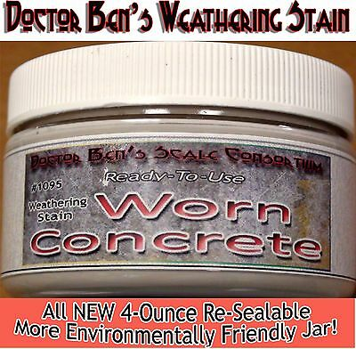 Worn Concrete Weathering Stain-4oz READY-TO-USE FLOQUIL REPLACEMENT WOOD ons62