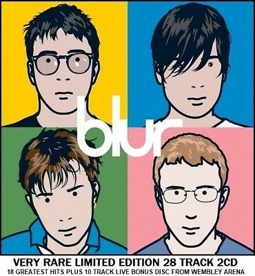 Blur - The Very Best Essential Greatest Hits Collection 90's Indie Brit Pop 2CD