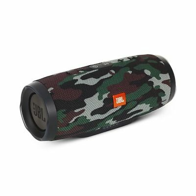 JBL Charge 3 Waterproof Portable Bluetooth Speaker (Camouflage). Authorized Deal