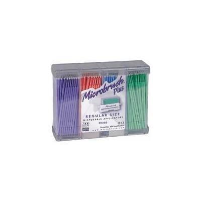 Microbrush PR400PU Plus Dispenser Series Micro Applicators Regular Purple 400/Pk