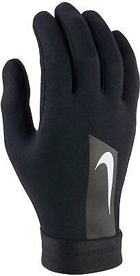 Nike Academy Hyperwarm Field Player Men,s Adults Training Football Gloves Black