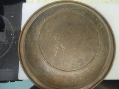 Large 1924 copper bowl C.M.M and Sons