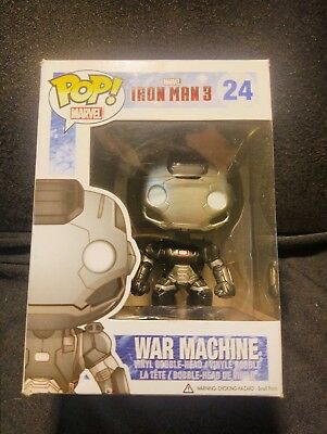 Funko Pop Marvel Iron Man 3 War Machine 24 Vaulted