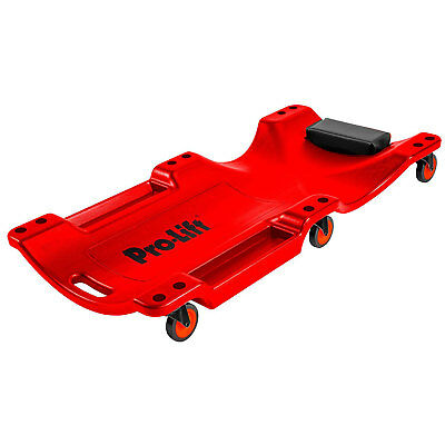 Pro-Lift C-6040 350 Pound Capacity 40 Inch Plastic Creeper with Swivel Casters