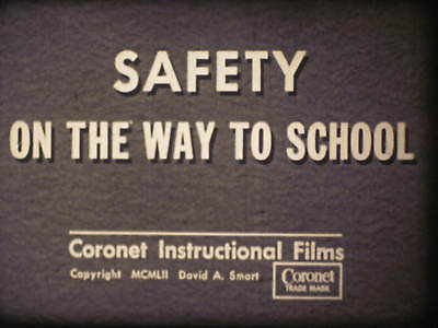 16mm sound film Coronet Safety On The Way To School 1952