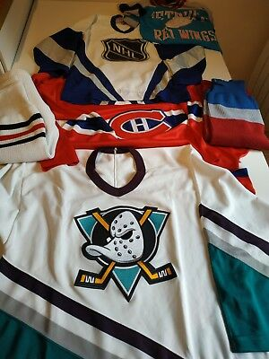 Maillots NHL Mighty ducks,Montreal Canadiens,All star game NHL hockey