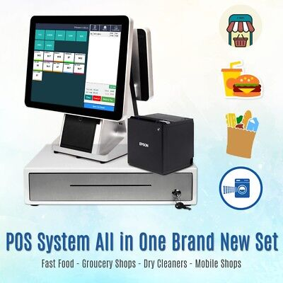 ePos System Pos System Suitable 4 Fast Food, Retail, Mobile shops, Coffee/Pubs