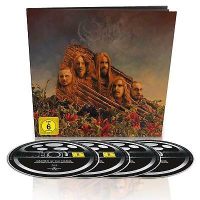 OPETH GARDEN OF THE TITANS (LTD.EDT.) EARBOOK BLU-RAY plus DVD plus 2 cd live