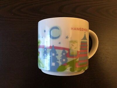 STARBUCKS City Mug Tasse HANGZHOU Icon Serie 14oz