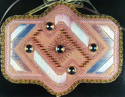 2x Needlepoint Pattern  The Cabochons: Harmony/Desire(Canvas/Thread/Beads)-BQ37