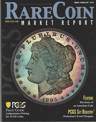 PCGS Rare Coin Market Report Magazine Jan,Feb 2019 Price Guide Proof Morgans $