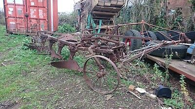 ransomes  trailing plough  barn findReady for restoration