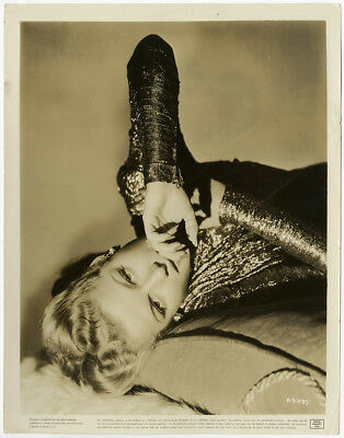 Ann Sheridan 1942 Vintage George Hurrell Sultry Dramatic Deco Glamour Photograph
