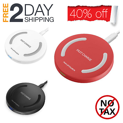 Energix Smart Wireless Fast Charging Qi Universal for Samsung & iPhone USA Stock