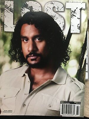 Lost The Official Magazine #15 Sayid Naveen Andrews
