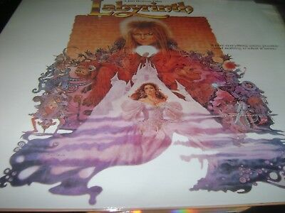 LABYRINTH DAVID BOWIE EXTENDED Widescreen edition Japan Laserdisc LD EX+ TO N/M