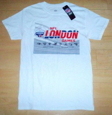 BNWT NFL London Games 2017 Wembley & Twickenham Men's Small T-Shirt