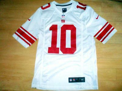 NY New York Giants - Mens Small - White Eli Manning #10 football jersey VGC