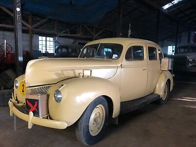 Ford 1940 v8 hotrod,military,