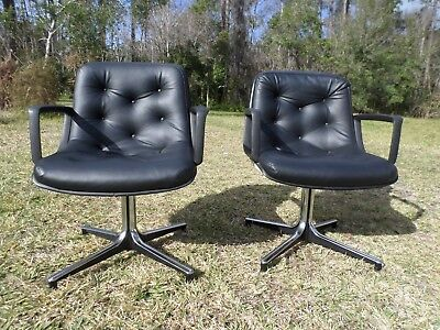 GF Business Equipment inc Leather Office Chairs mid century modern Good Form