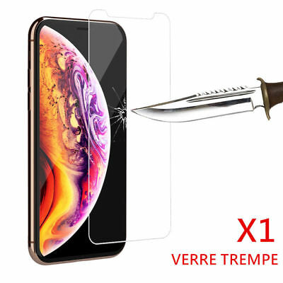 Vitre Verre Trempe Ecran Film Protection Iphone Xr & Iphone Xs Unite Et Lot X2