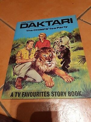 Daktari .The Chimps Tea Party. Ivan Tors.
