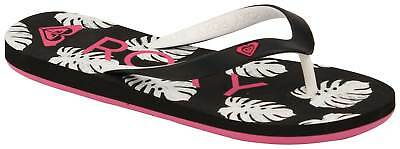 Roxy Girl's Tahiti VI Sandal - Black / Pink - New