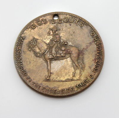 Boy Scouts Good Luck Token From The Excelsior Shoe Co No Reserve #4258