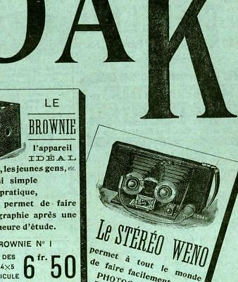 """La Nature"" 1902 Technik Journal mit Stereo Kamera Auto Reklame IMPETUS Kürbis"
