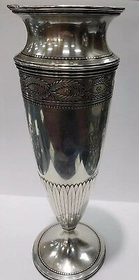 Beautiful Tiffany & Co. Sterling Silver Vase