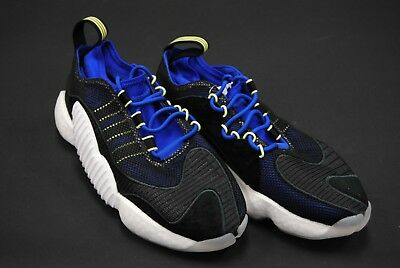 huge selection of 84ba0 29133 Bd7998 New Mens Adidas Originals Crazy Byw Ii Black White Blue Yellow  Am292
