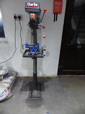 Clarkes Large Floor Standing Pillar Drill