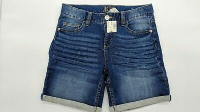 NEW Justice Denim Jean Shorts Girls Size 16