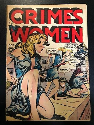 Crimes By Women #3 (Fox Features Syndicate, 1948) VG- Classic Good Girl Art
