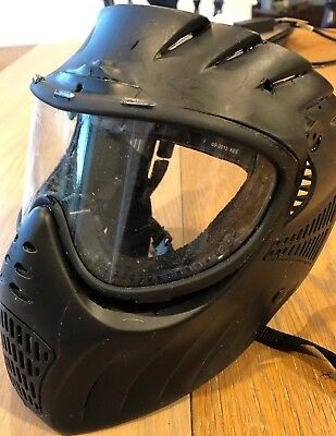 X. Ray 20-20 Goggle Paintball Mask with Fog Resistant Lens - Black Goggle