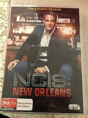 NCIS New Orleans TV Series Season 4 DVD Brand New