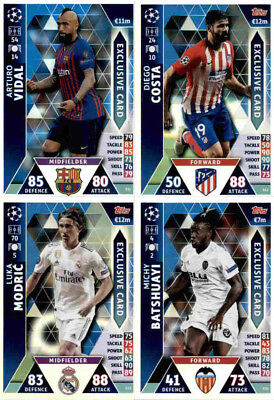 Exclusive Card - Limited Edition - Topps Match Attax Champions League 2018-19
