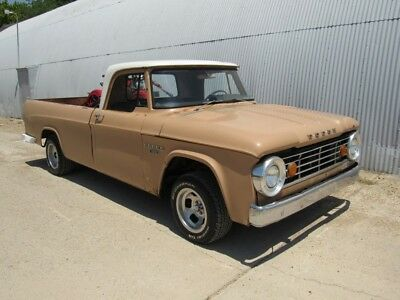 1967 Dodge Other Pickups D100 1967 DODGE D100 1/2 TON LONGBED.  318,AUTO. RUNS AND DRIVES.