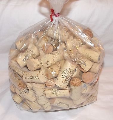 Lot of 100 ~ Used All Natural Wine Bottle Corks ~ Arts & Crafts