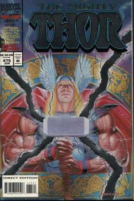Thor (1966 series) #475 Collector's in Near Mint condition. Marvel comics [*x9]