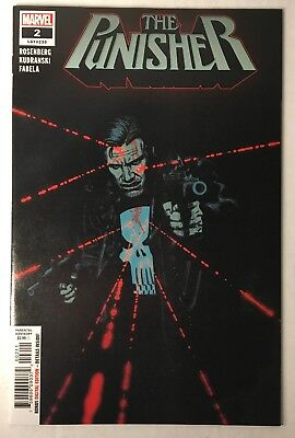 The Punisher #2  Marvel Comics 1St Print 2018 Legacy #230 Check Other Listings!
