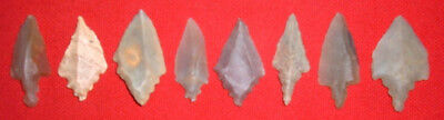 (8) Select Sahara Mesolithic Points, Blades, Prehistoric African Artifacts