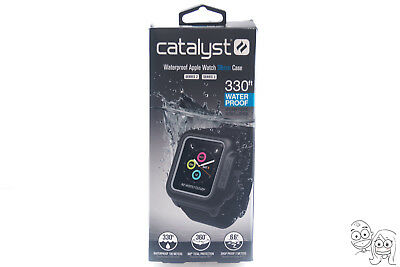 Catalyst Waterproof Apple Watch Case For 38mm Series 3 and Series 2 (Black) OB