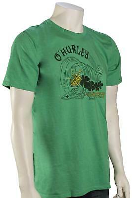 6858e2ce HURLEY MEN'S CELTIC Roots ST. Patricks Day Tee T-Shirt - Gym Green ...