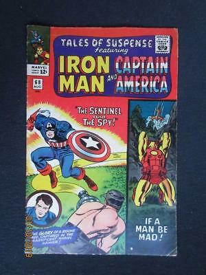 Tales of Suspense #68 MARVEL 1965 - Captain America, Iron Man, Stan Lee!