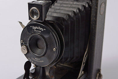 Ensign Syncro Folding camera with F/11 lens