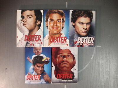 Dexter TV series - DVD - Seasons 1-5