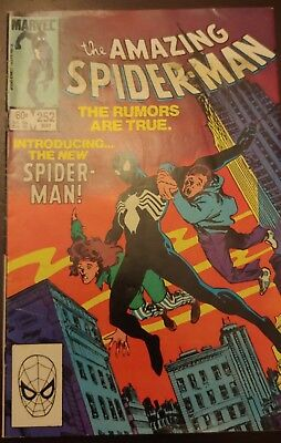 The Amazing Spiderman #252 -  Canadian Newsstand Price Variant 1984