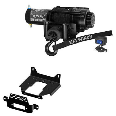 KFI 3000 lb Winch Combo for Polaris General and RZR 900//1000//Turbo 101350